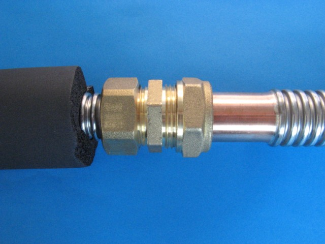Plumbhose flexible stainless plumbing hose dn12 dn16 dn20 for How to insulate copper pipes